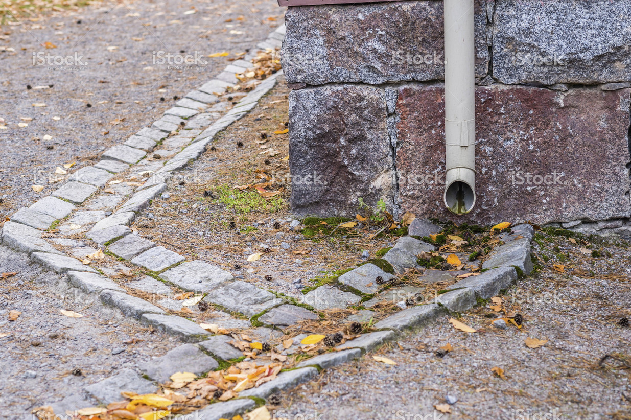 stock-photo-77676289-downpipe-and-gutter